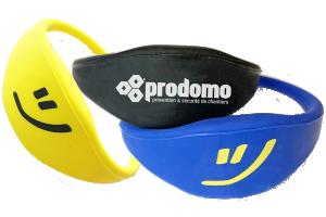 Bracelet RFID en silicone