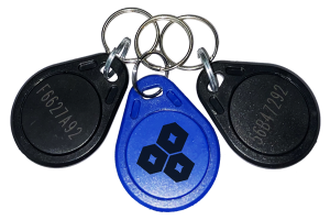 Badge porte clés