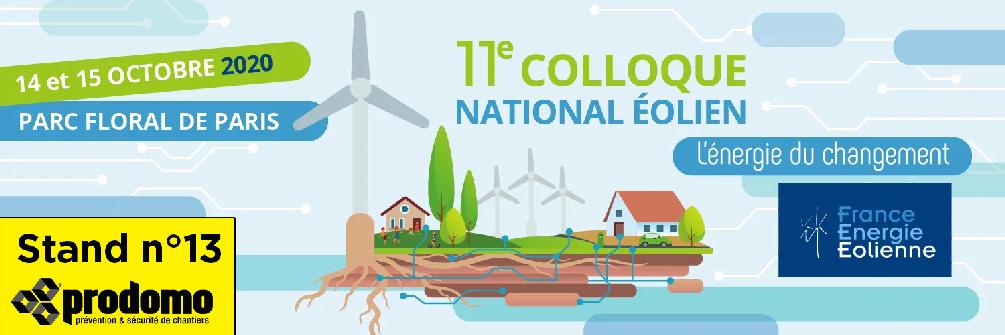 Retrouvez Prodomo au 10e Colloque national éolien