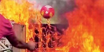 boule extincteur feu prodomo