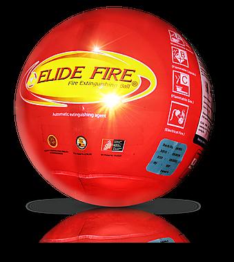 boule extinction feu