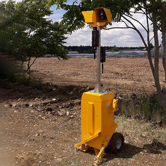 alert tower caméra mobile chantier intrusion vol