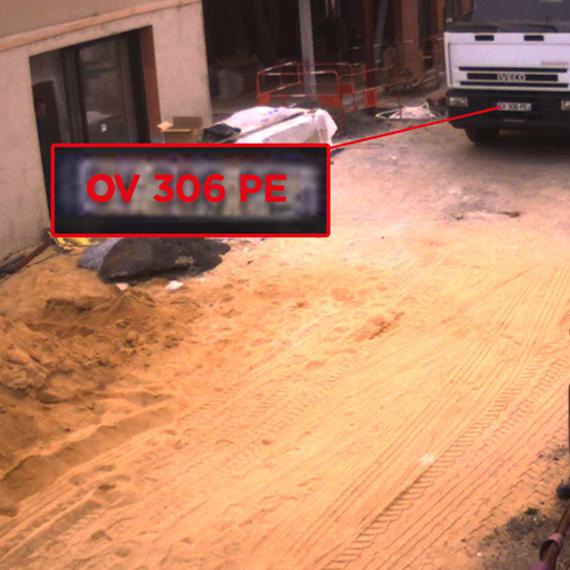 portée de détection caméra chantier anti-intrusion