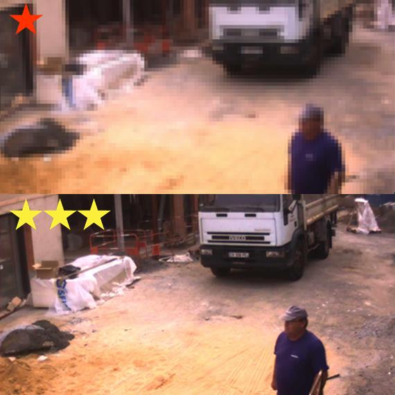 image caméra anti intrusion haute définition